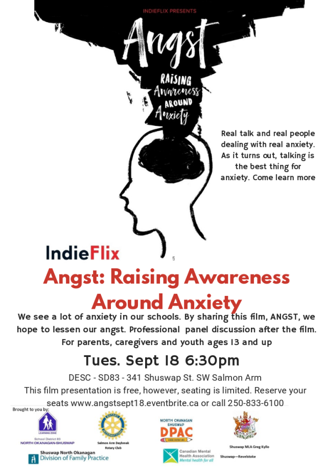Angst Raising Awareness Around Anxiety